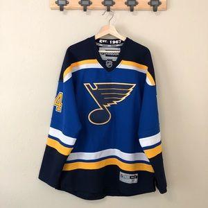 St. Louis Blues Reebok Hockey Jersey Oshie 74